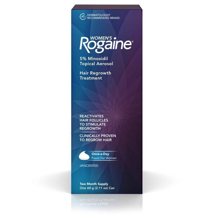 Women's Foam 5% Minoxidil Hair Regrowth Treatment
