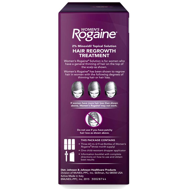 Women's ROGAINE® 2% Minoxidil Solution