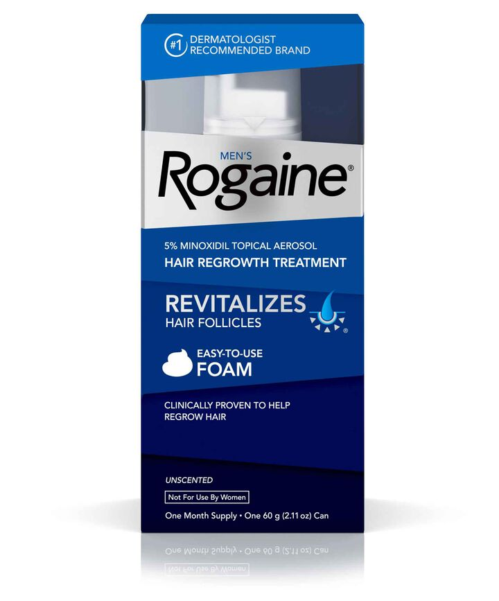 Men's ROGAINE® 5% Minoxidil Unscented Foam
