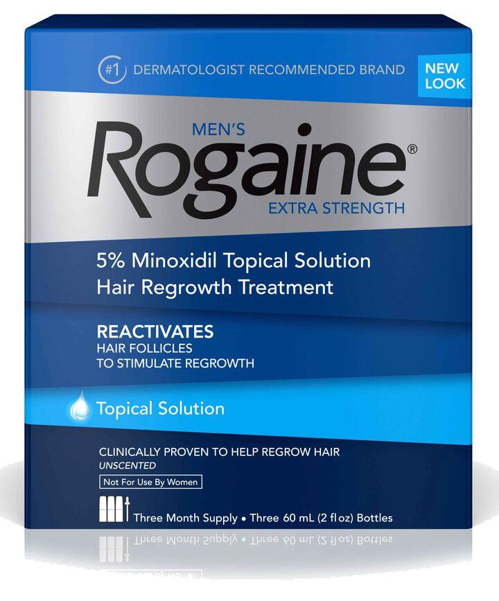 Men's ROGAINE® 5% Minoxidil Solution