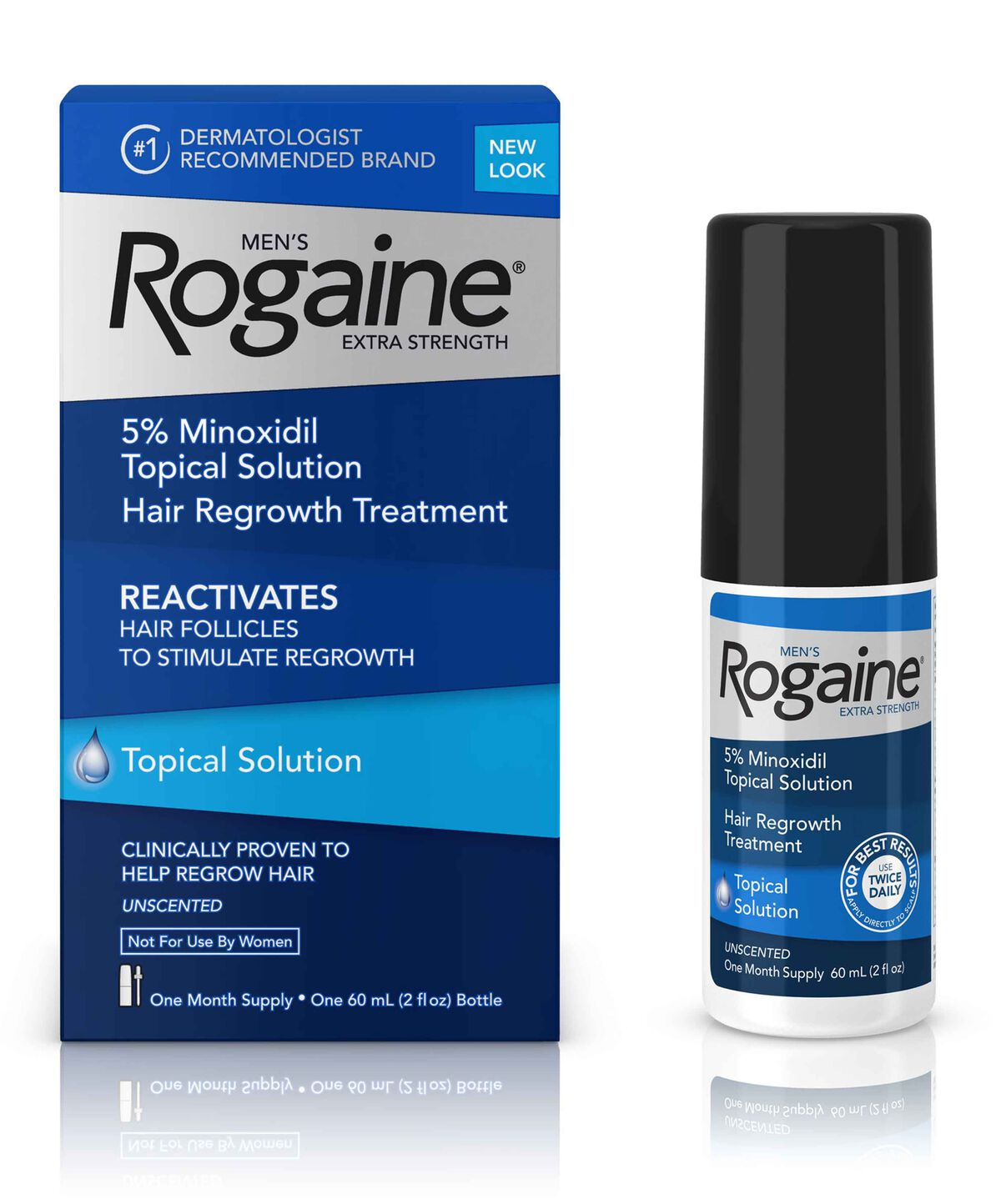 Men's ROGAINE® 5% Minoxidil Solution Subscribe & Save Up To 20% (View  discounted prices in the cart)