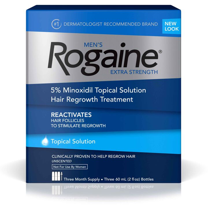 Men's ROGAINE® 5% Minoxidil Solution
