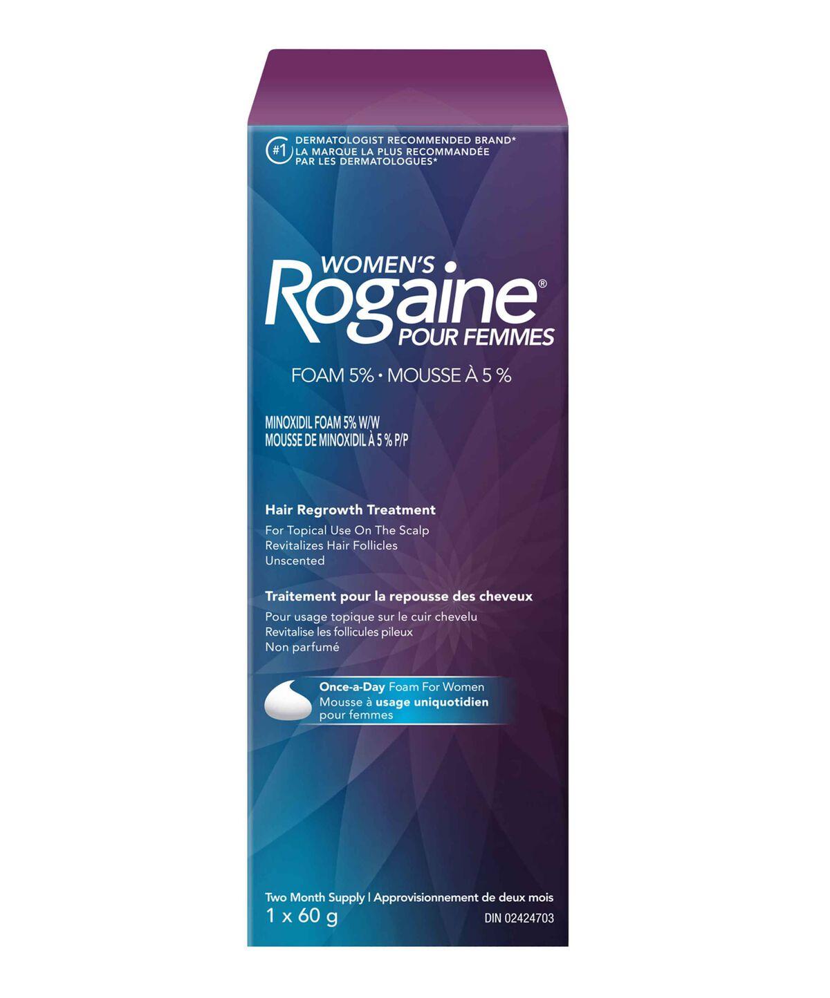 Womens Foam 5 Minoxidil Hair Regrowth Treatment